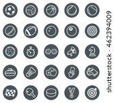 sport icons | Shutterstock .eps vector #462394009