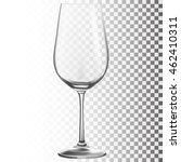 wine glass. transparent vector...   Shutterstock .eps vector #462410311