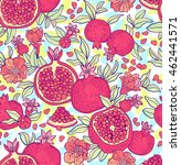 seamless pattern with... | Shutterstock .eps vector #462441571