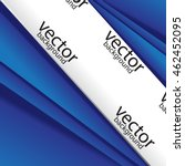 abstract vector brochure... | Shutterstock .eps vector #462452095