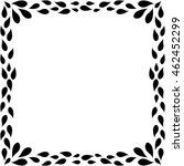 frame border art illustration... | Shutterstock .eps vector #462452299