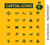 capital icons | Shutterstock .eps vector #462453367