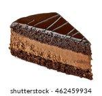 Chocolate Or Devils Cake Slice...