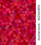 dark red triangle mosaic vector ... | Shutterstock .eps vector #462462841