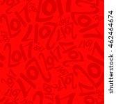 seamless vector pattern of deep ... | Shutterstock .eps vector #462464674