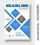 brochure design. flyer...   Shutterstock .eps vector #462468385