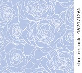 rose blue pattern. abstract... | Shutterstock .eps vector #462471265