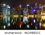 downtown  singapore   july 15... | Shutterstock . vector #462488311