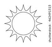 sun vector symbol icon design