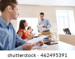 education  school  learning and ... | Shutterstock . vector #462495391