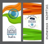 indian independence day concept ... | Shutterstock .eps vector #462497161