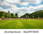 paris  france  view on famous... | Shutterstock . vector #462497845