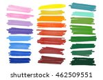 vector lanes drawn with colored ... | Shutterstock .eps vector #462509551