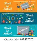 back to school background.... | Shutterstock .eps vector #462519025