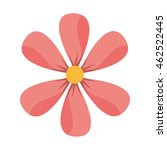flower floral nature icon... | Shutterstock .eps vector #462522445