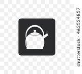 icon kettle. | Shutterstock .eps vector #462524857
