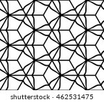 seamless pattern based on the... | Shutterstock .eps vector #462531475