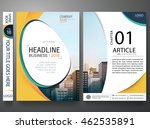 flyers design template vector.... | Shutterstock .eps vector #462535891