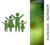 family vector icon | Shutterstock .eps vector #462556639