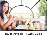 manual breast pump  mothers... | Shutterstock . vector #462572155