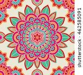 ethnic boho hippie seamless... | Shutterstock .eps vector #462585091