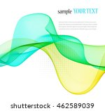 abstract color wave image on a... | Shutterstock .eps vector #462589039
