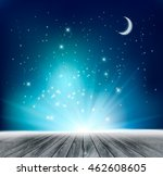 beautiful magical night... | Shutterstock .eps vector #462608605
