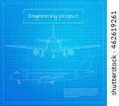 Vector Illustration Of Plane....