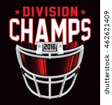 Division Champs Football Helme...