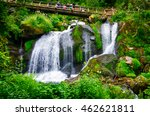 the highest waterfalls in... | Shutterstock . vector #462621811