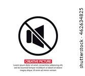 mute sound vector icon 10 eps