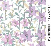 lily background. floral... | Shutterstock .eps vector #462637459