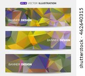 abstract vector internet... | Shutterstock .eps vector #462640315