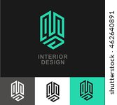 business icon   vector logo... | Shutterstock .eps vector #462640891