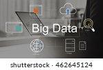 big data domain web page seo... | Shutterstock . vector #462645124