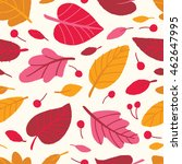 vector seamless pattern with... | Shutterstock .eps vector #462647995