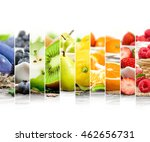photo of rainbow colorful mix... | Shutterstock . vector #462656731