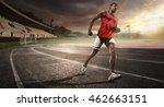 sport. athletics running track | Shutterstock . vector #462663151