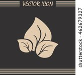 vector icon leaf  | Shutterstock .eps vector #462679327
