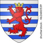 coat of arms of the city of... | Shutterstock . vector #462683539