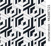 seamless geometric pattern.... | Shutterstock .eps vector #462687121
