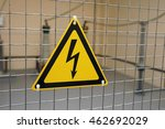 sign of electrical hazards are... | Shutterstock . vector #462692029