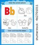 alphabet learning letters  ... | Shutterstock .eps vector #462701011
