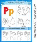 alphabet learning letters  ... | Shutterstock .eps vector #462701269