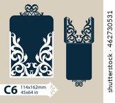 layout congratulatory envelope... | Shutterstock .eps vector #462730531
