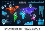 vector info graphics modern...