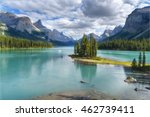 spirit island overlook on a... | Shutterstock . vector #462739411