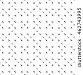 seamless geometric pattern.... | Shutterstock .eps vector #462743995