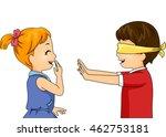 illustration of children... | Shutterstock .eps vector #462753181