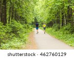 young couple running | Shutterstock . vector #462760129